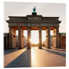 Acrylglas print  Brandenburg Gate at sunrise - Markus Lange