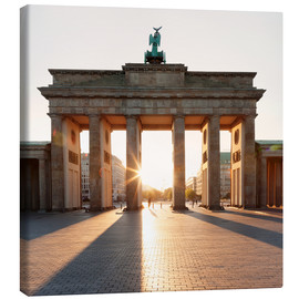 Canvas print  Brandenburg Gate at sunrise - Markus Lange