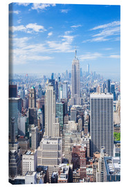 Canvas print  Manhattan skyline in New York - Neale Clarke