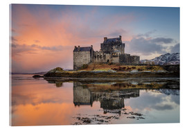 Acrylglas print  Dawn at Eilean Donan Castle - Andrew Sproule