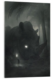 Acrylglas print  Face of Fear - Dawid Planeta