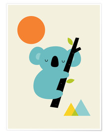 Premium poster  Little dreamer - Andy Westface