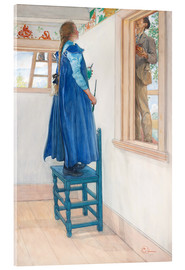 Acrylglas print  Suzanne and another - Carl Larsson