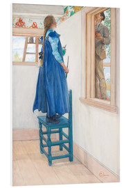 PVC print  Suzanne and another - Carl Larsson