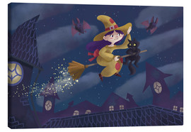 Canvas print  Little witch - Leonora Camusso