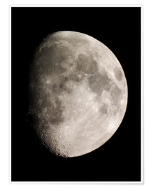 Premium poster Moon (Telescopic View)