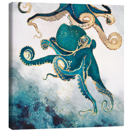 Canvas print  Octopus, underwater dream V - SpaceFrog Designs
