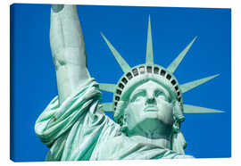Canvas print  Statue of Liberty in New York City, USA - Jan Christopher Becke