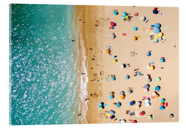 Acrylglas print  Aerial View Of People on Summer Holiday - Radu Bercan