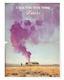 Premium poster The One Who Knocks, Breaking Bad