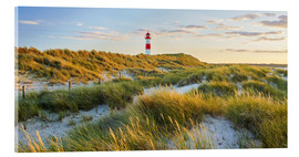 Acrylglas print  Lighthouse in Sylt - Rainer Mirau