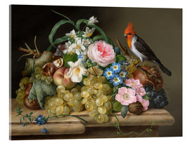 Acrylglas print  Two floral still lifes - Franz Xaver Petter