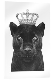 Acrylglas print  The King panthers - Valeriya Korenkova