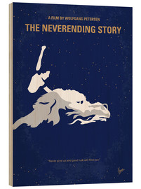 Hout print  The never ending Story - chungkong