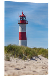 Acrylglas print  Striped lighthouse - Heiko Mundel