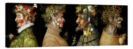 Canvas print  The four seasons - Giuseppe Arcimboldo