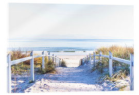 Acrylglas print  Dunes way, Sylt - Art Couture