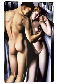 Canvas print  Adam and Eve - Tamara de Lempicka
